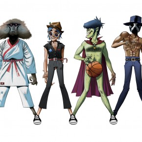 Gorillaz - DoYaThing (Feat. Andre 3000 and James Murphy) - 2.22.12 #2